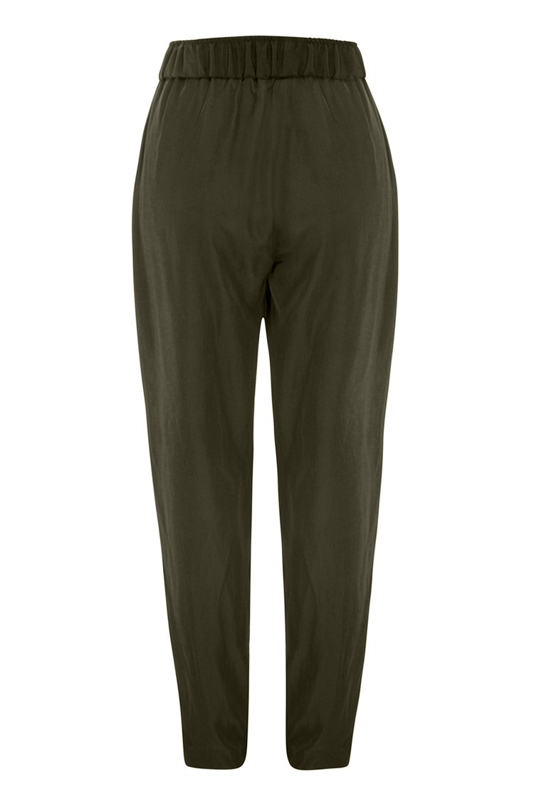 Soft Nomad Pant in Kelp