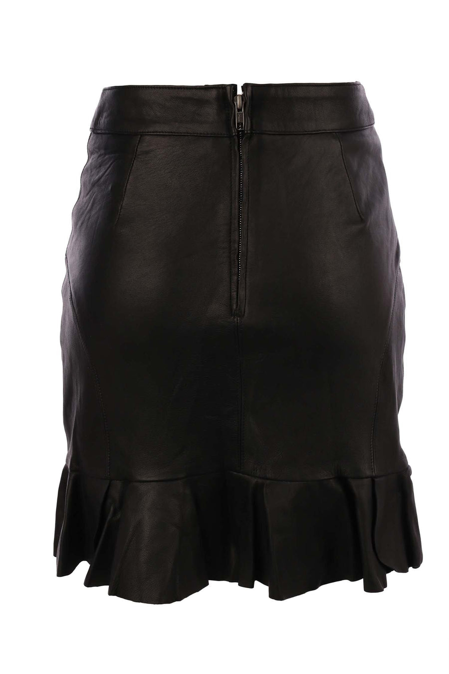Mia Frill Skirt in Black