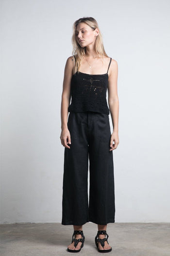 Topaz Pant in Black