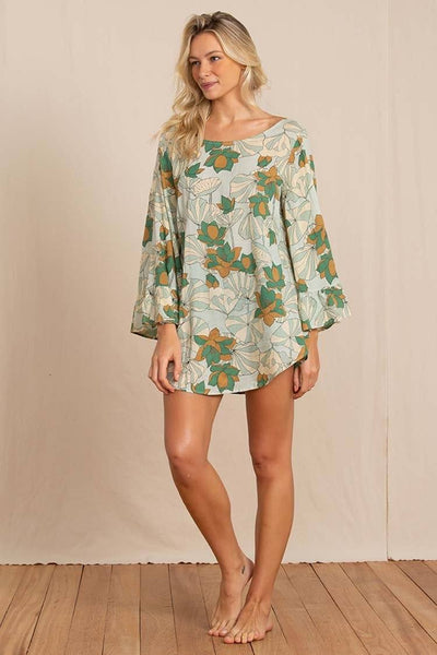 Pearl Tunic in Poet Green | FINAL SALE Tops Totem