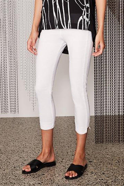 Acrobat Desiree Pant in White Bottoms Verge