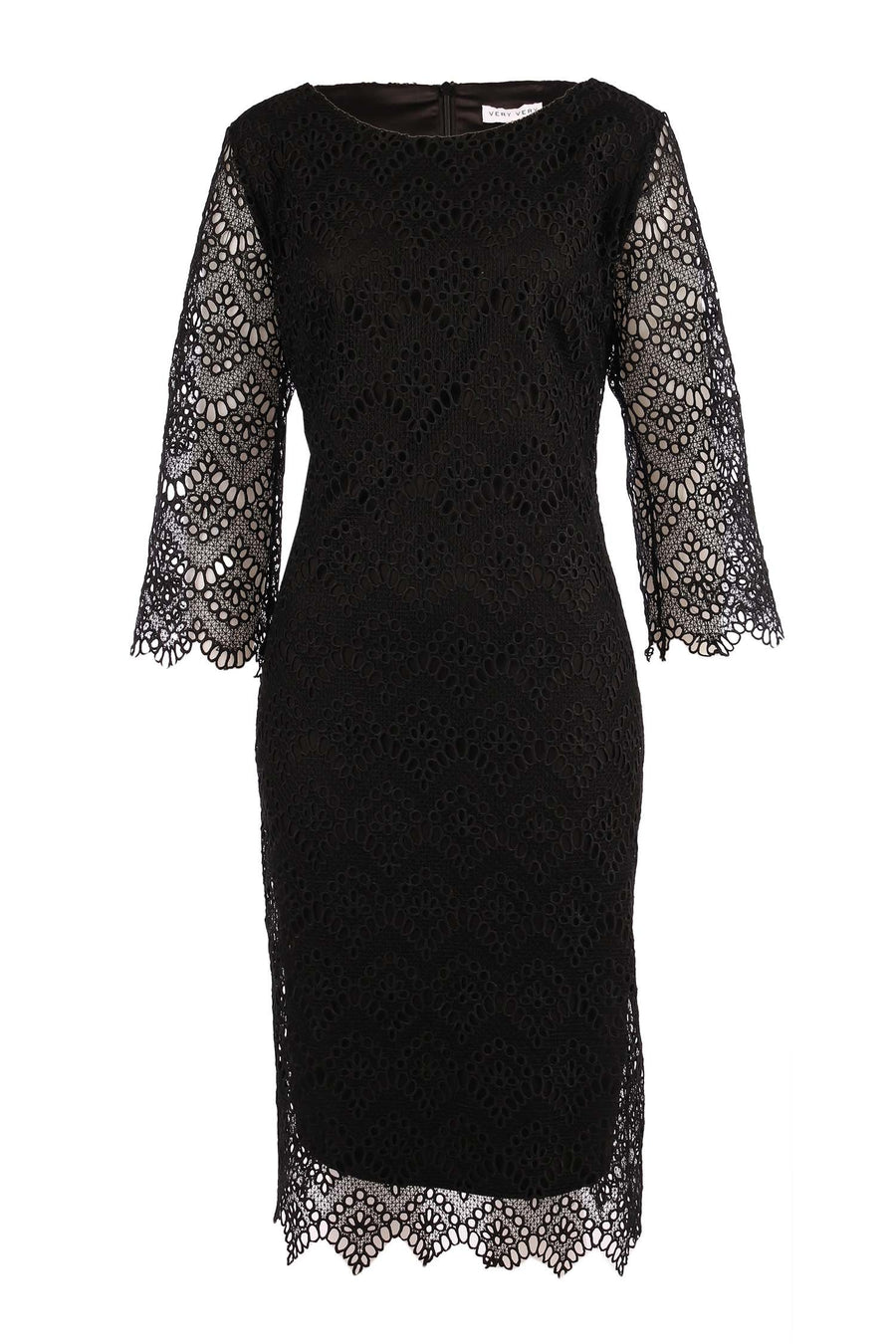 Emma Dress in Antique Black