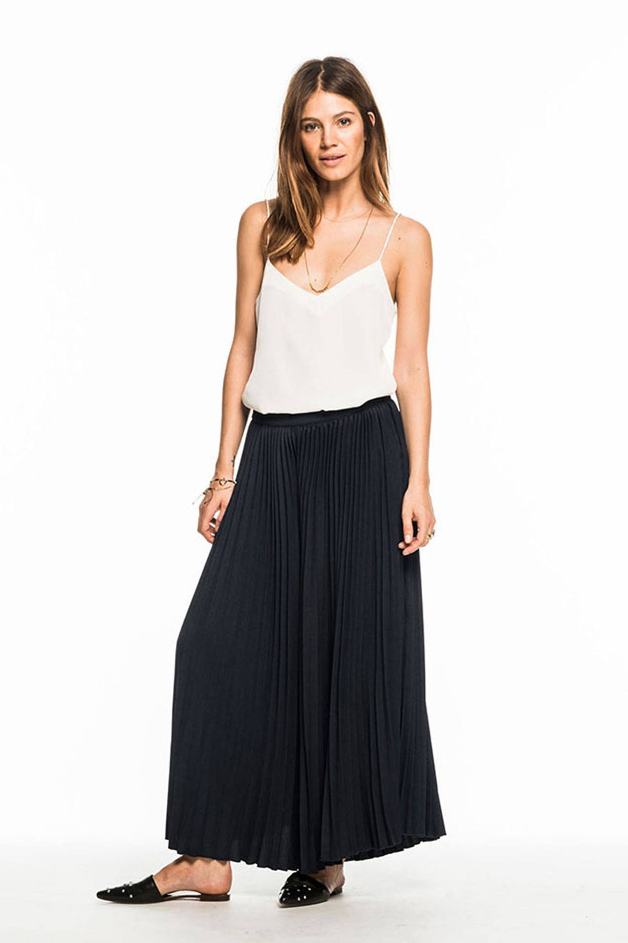 The Pleated Culottes by Maison Scotch by Maison Scotch Frockaholics.com