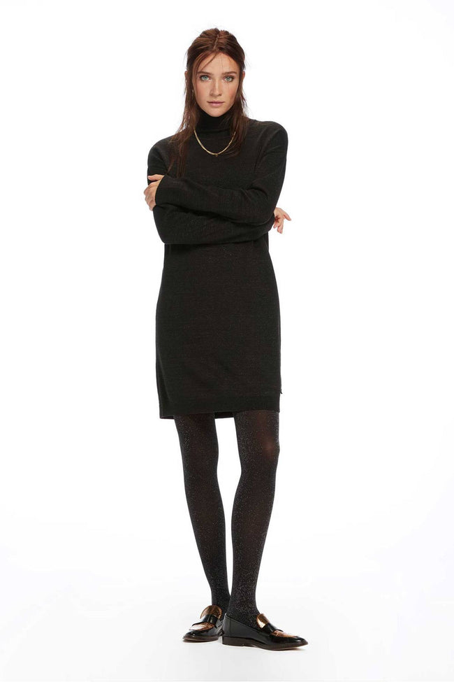 Lurex Turtleneck in Combo B by Maison Scotch