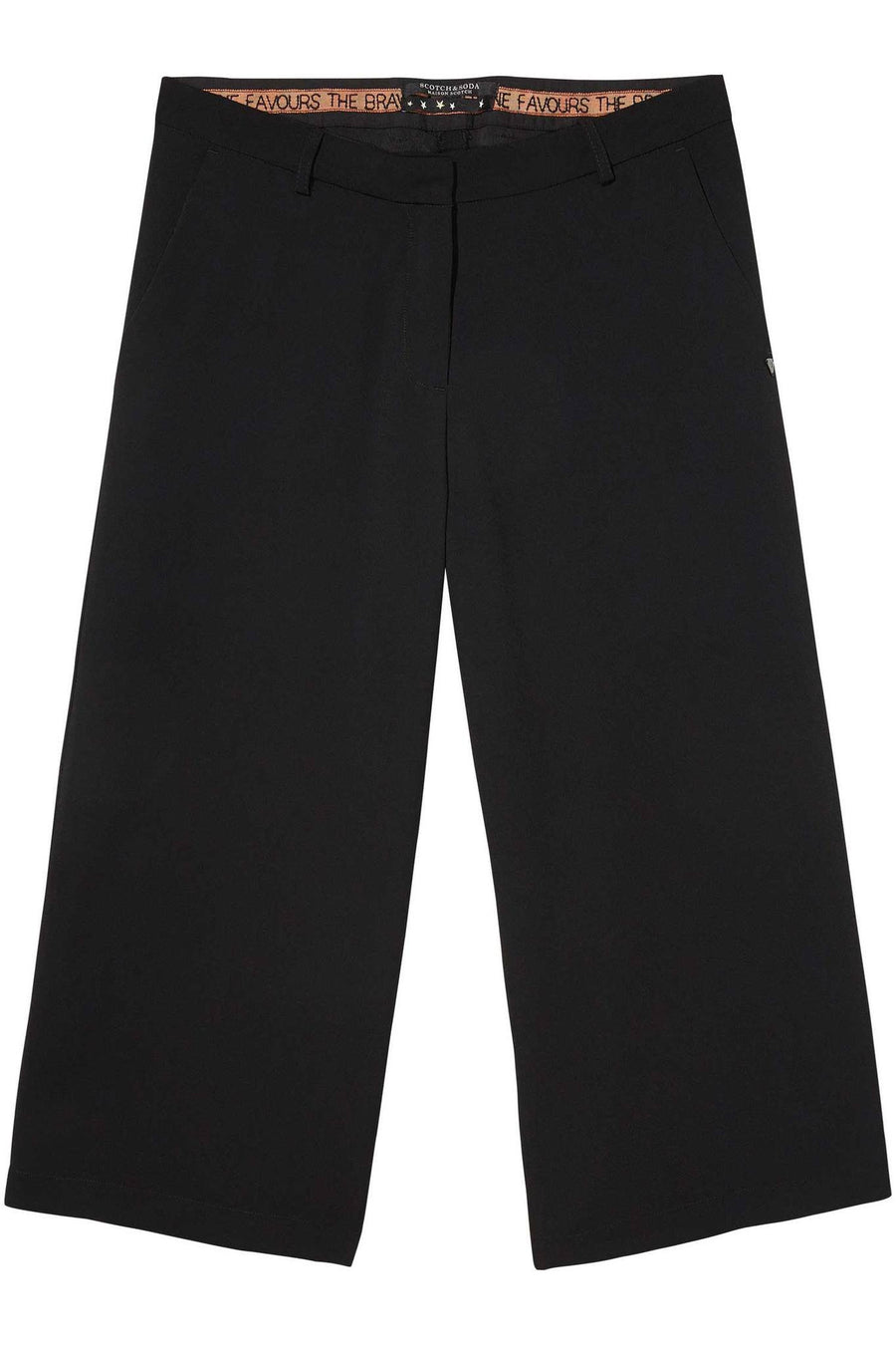 Tailored Culottes in Black by Maison Scotch
