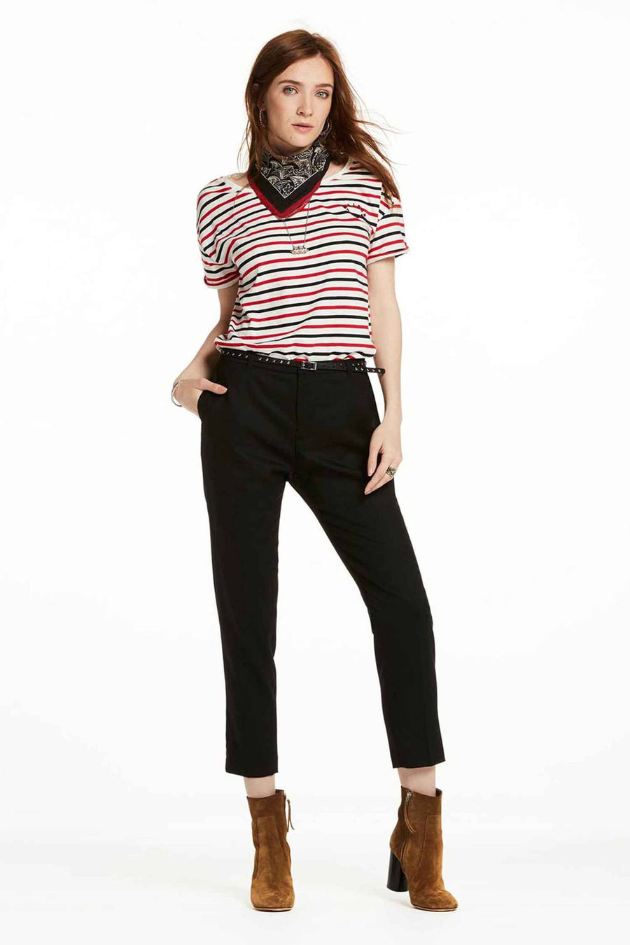 Classic Trousers in Black by Maison Scotch Frockaholics.com