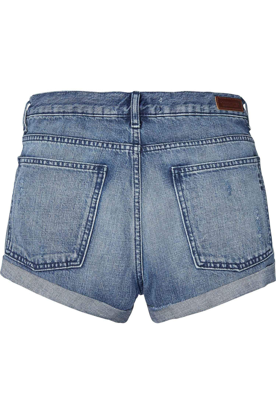 Denim Shorts in Ocean Reflection by Maison Scotch Frockaholics.com