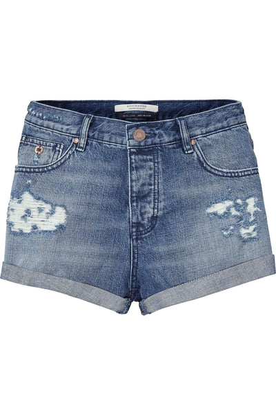 Denim Shorts in Ocean Reflection | FINAL SALE Bottoms Maison Scotch