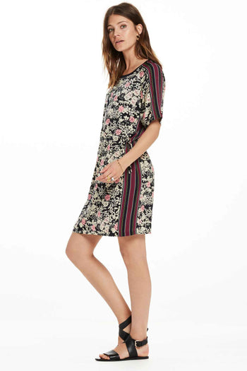 All Over Printed Dress in Combo C