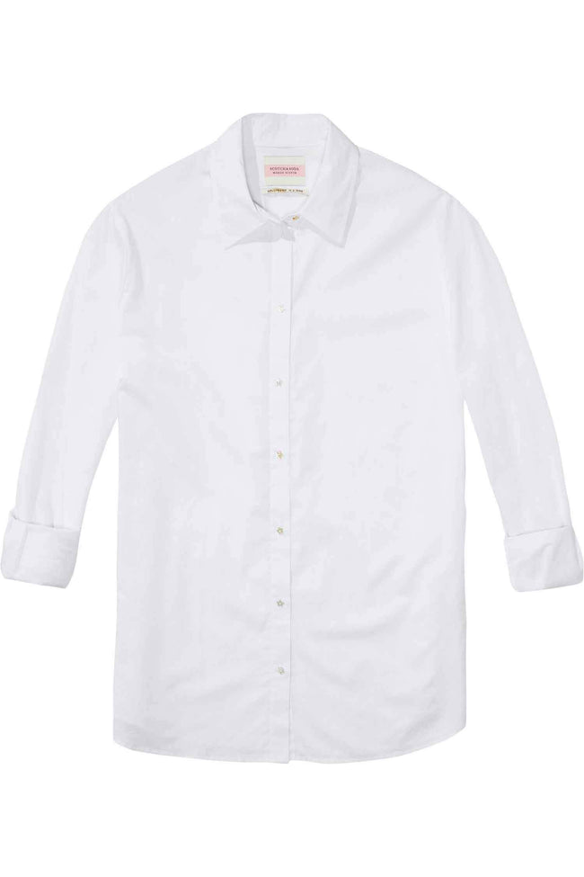 Boyfriend Shirt in White
