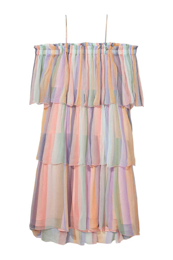 Shop Online Sheer Tiered Dress | FINAL SALE by Maison Scotch  Frockaholics Dresses