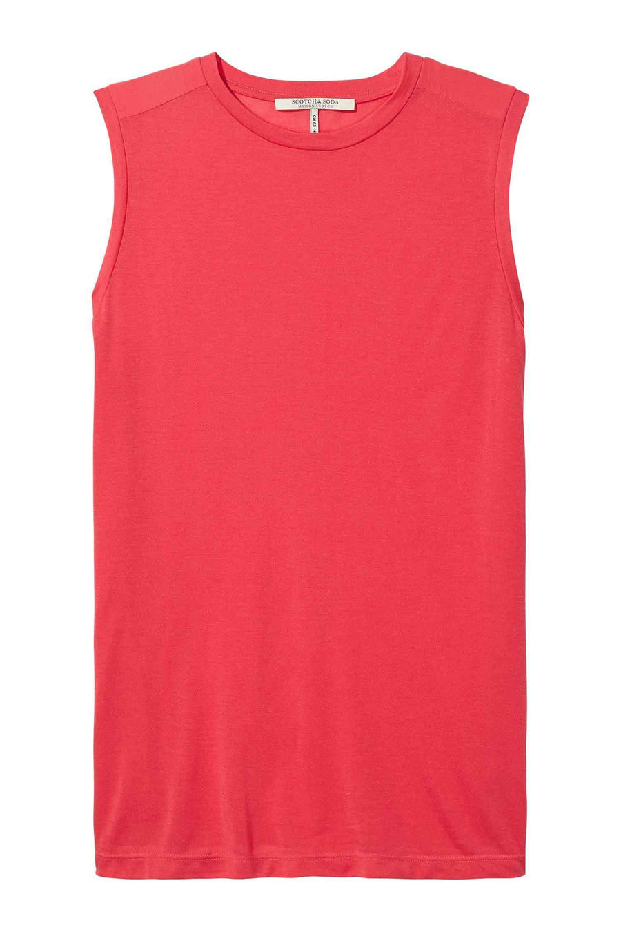 Soft Jersey Top In Punch