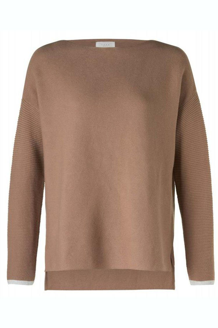 9710a294138 Basic Knit Sweater in Toffee by Yaya