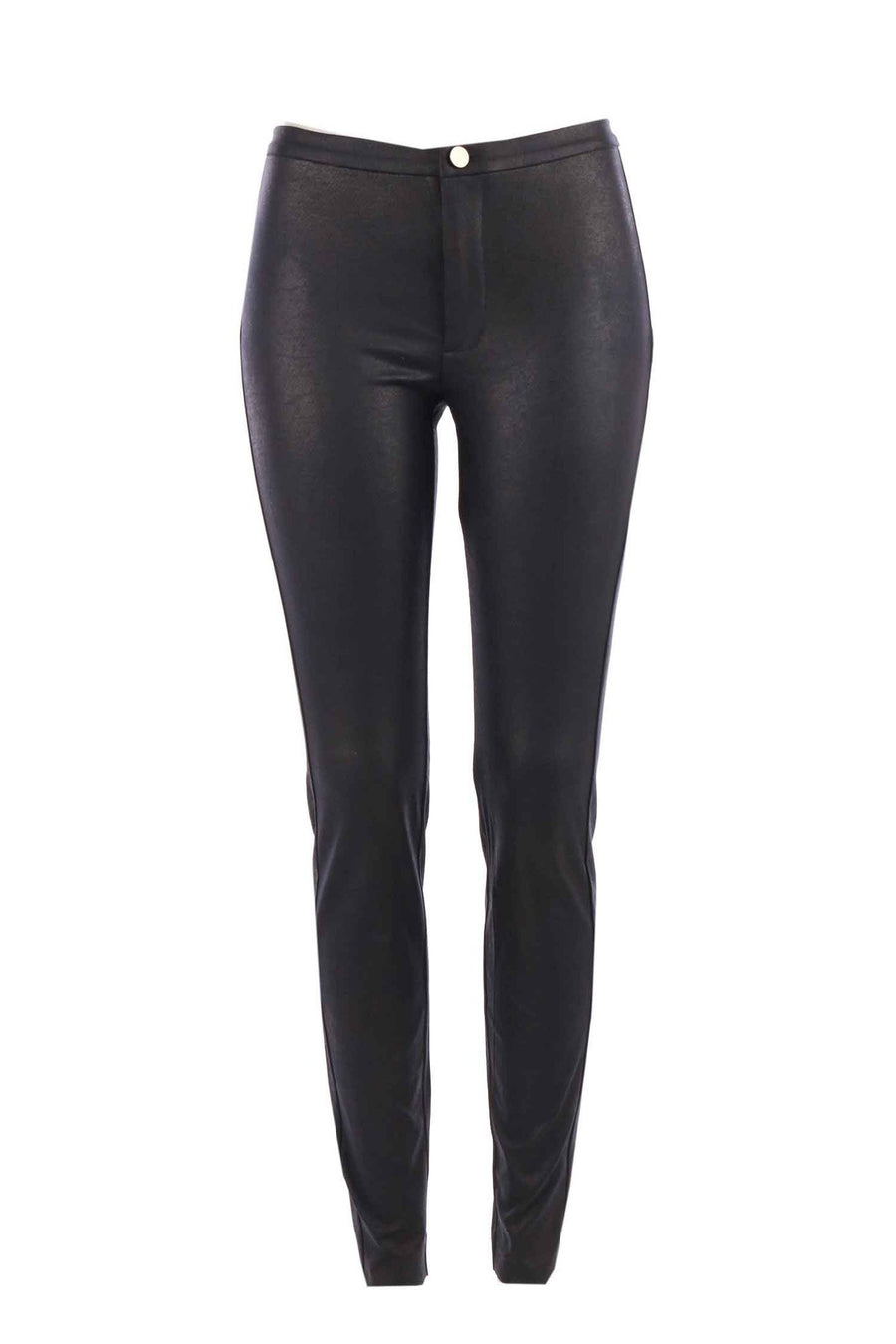 Jersey Legging Fake Leather by Yaya Frockaholics.com