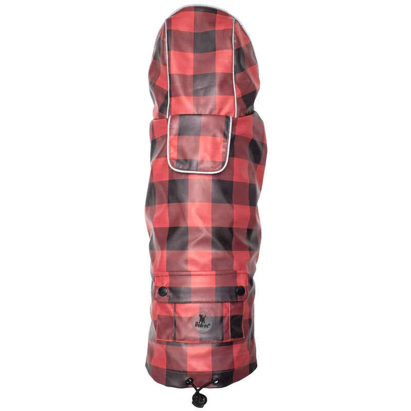 Red/Black Buffalo London Raincoat