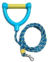 Water Ski Rope Leash (Yellow & Blue) - Bayside Buddy