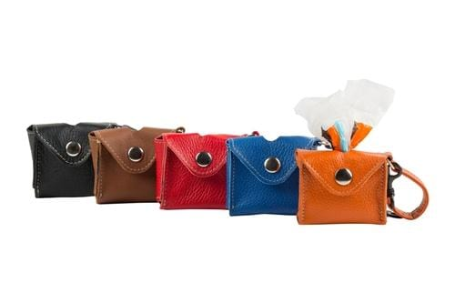 Leather Pick Up Bag Holders - Bayside Buddy