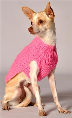 Cable Knit Sweater in Pink at Baysidebuddy.com - Bayside Buddy