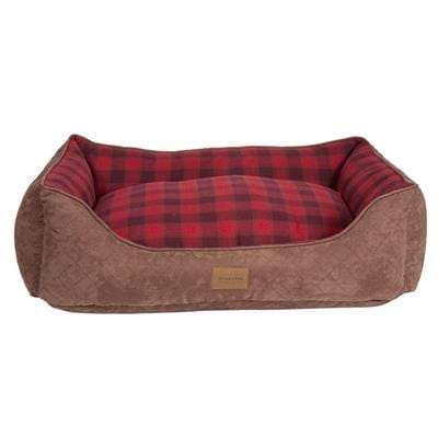 Red Ombre Plaid Kuddler - Bayside Buddy