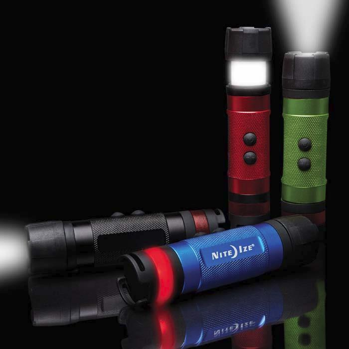 Radiant 3-in-1 LED Mini Flashlight - 80 Lumens - Bayside Buddy