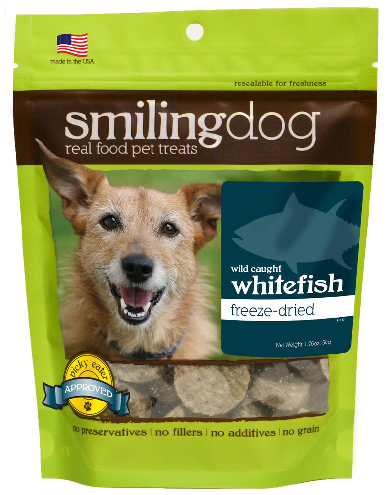 Smiling Dog Freeze-Dried Treats - Whitefish