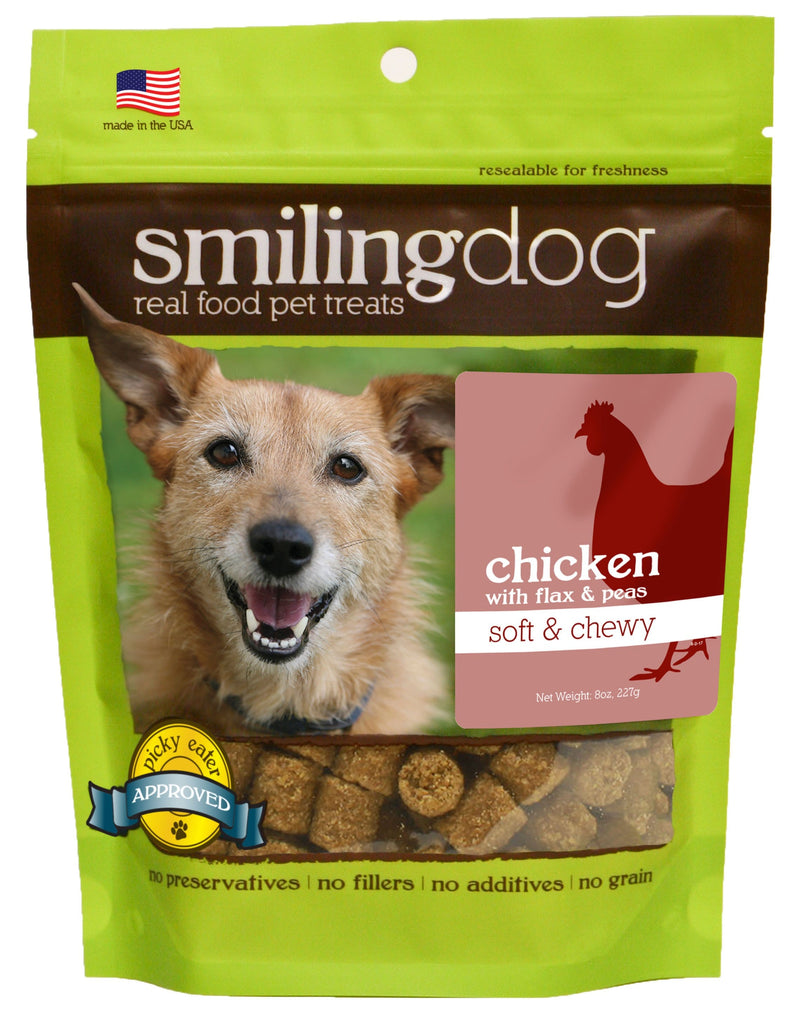 Smiling Dog Soft & Chewy Treats - Chicken