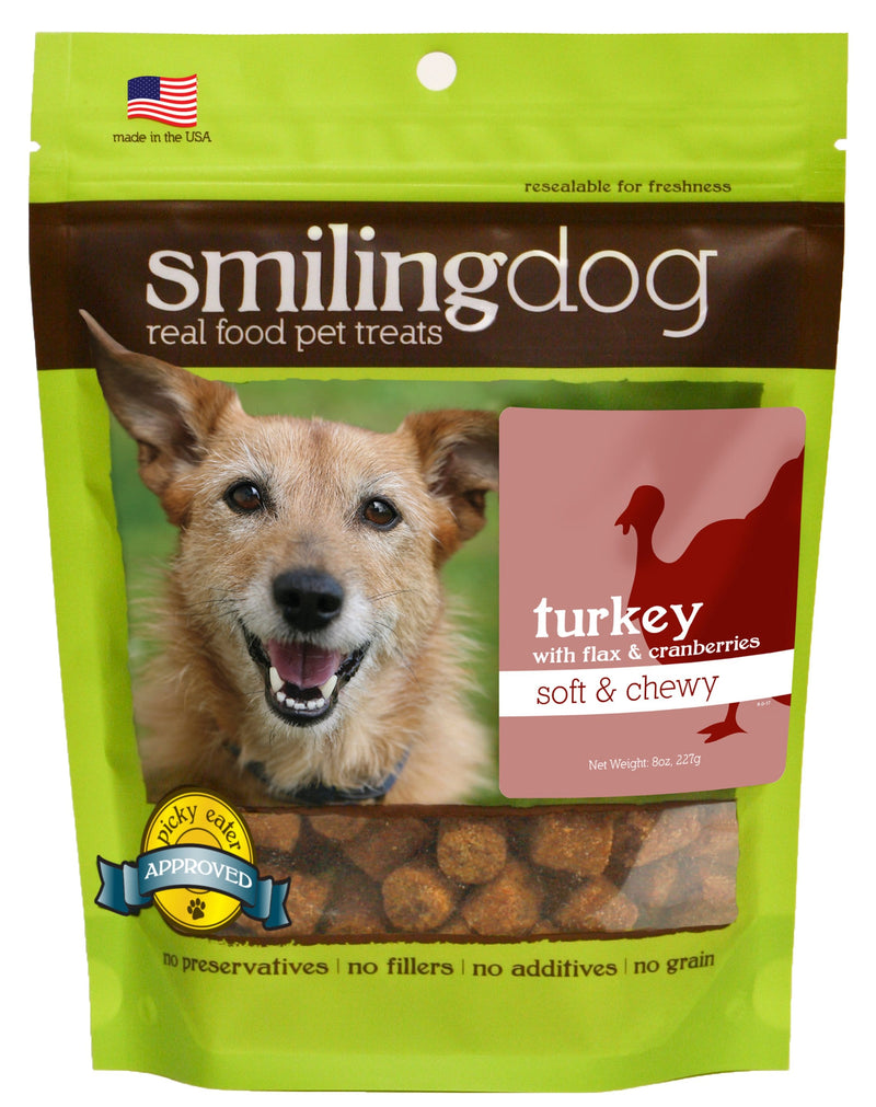 Smiling Dog Soft & Chewy Treats - Turkey