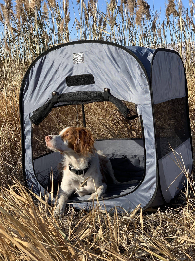 K9 Kennel Pop-Up Tent - Bayside Buddy