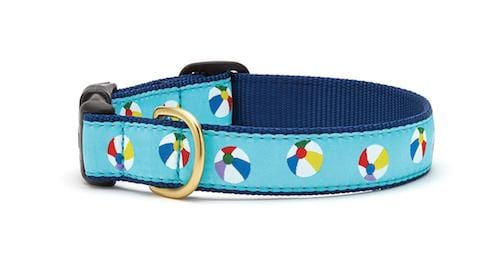 Beach Ball Dog Collar
