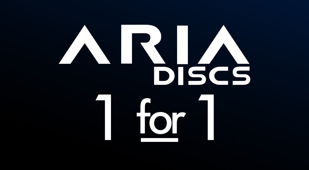 ARIA Discs 1 for 1 donation model