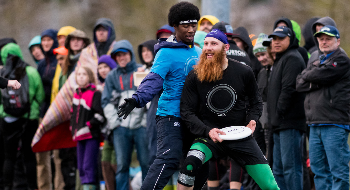 ARIA Ultimate disc with Khalif el-salaam and Luke Jesperson Game of The Year