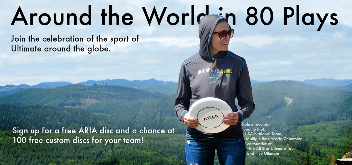 Rohre Titcomb, Seattle Riot, USA National Team, World Champion, ARIA Ultimate