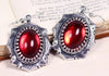 Medieval Earrings - Antiqued Silver - Rabbitwood & Reason