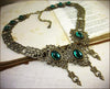 Chateau Necklace - Antiqued Brass