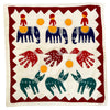 Barmer Appliqué Pillow - Animal Motif