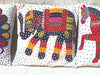 Barmer Appliqué Pillow Cover - Elephant