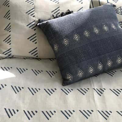 MATTER for Tilonia® Queen Duvet Set in Kangura in Grey & Blue