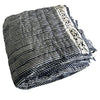 Proud Mary for Tilonia® King Quilt in Stripes in Navy Blue (Pre-Order)