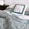 Proud Mary for Tilonia® Queen Quilt in Stripes in Teal (Pre-Order)