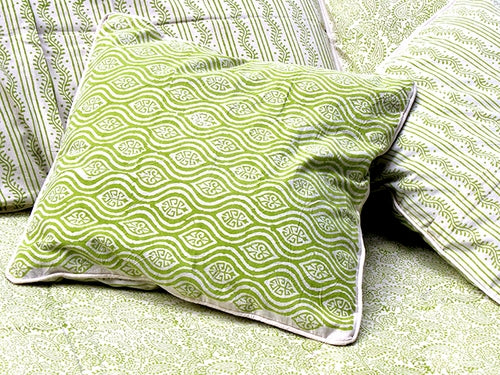 Tilonia® Decorative Pillow Cover - Mod Pod in Green Apple