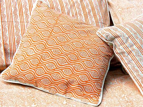 Tilonia® Decorative Pillow Cover - Mod Pod in Pumpkin