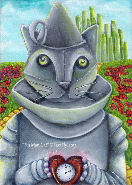 ON SALE Wizard of Oz, Dorothy, Tin Cat, Scarecrow, and Lion, Four Print Special