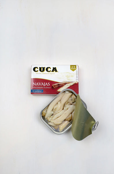 Cuca Razor Clams
