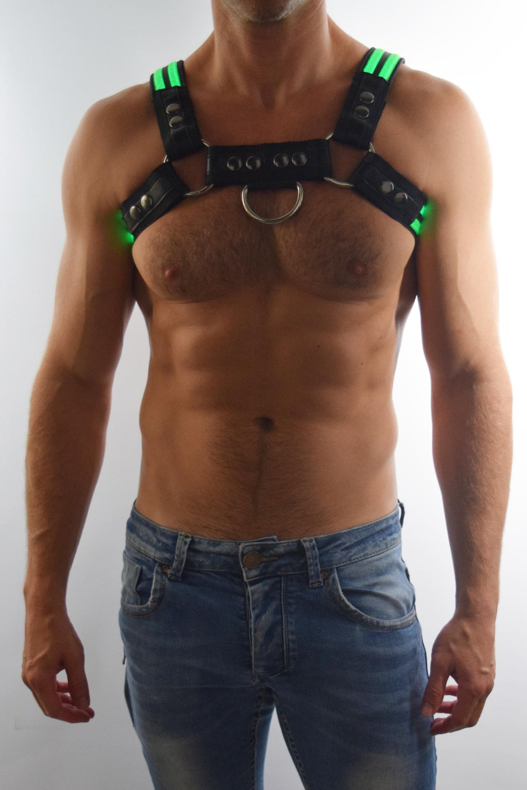 GREEN GLOW BULLDOG HARNESS