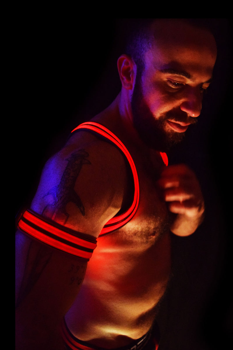 RED GLOW ARMBAND