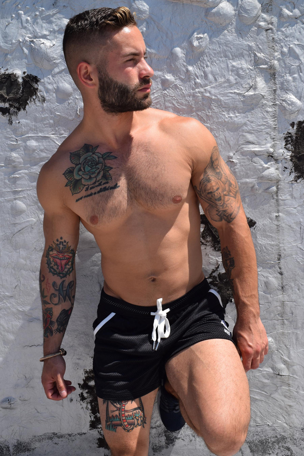 CRUISER SHORTS - BLACK