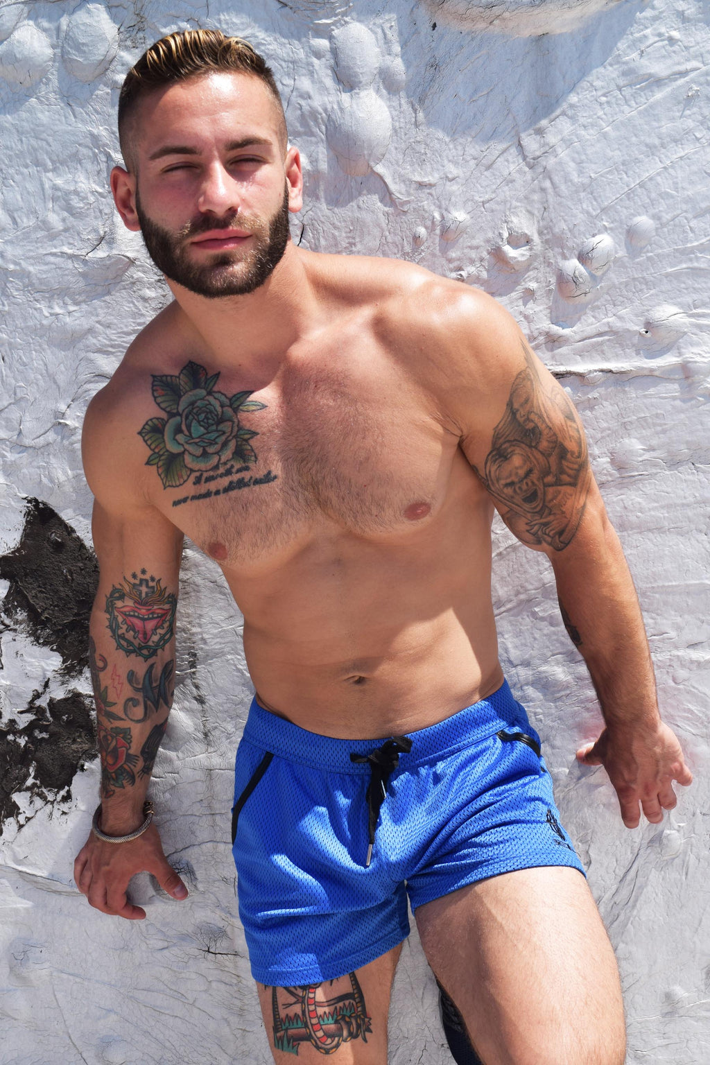 CRUISER SHORTS - BLUE