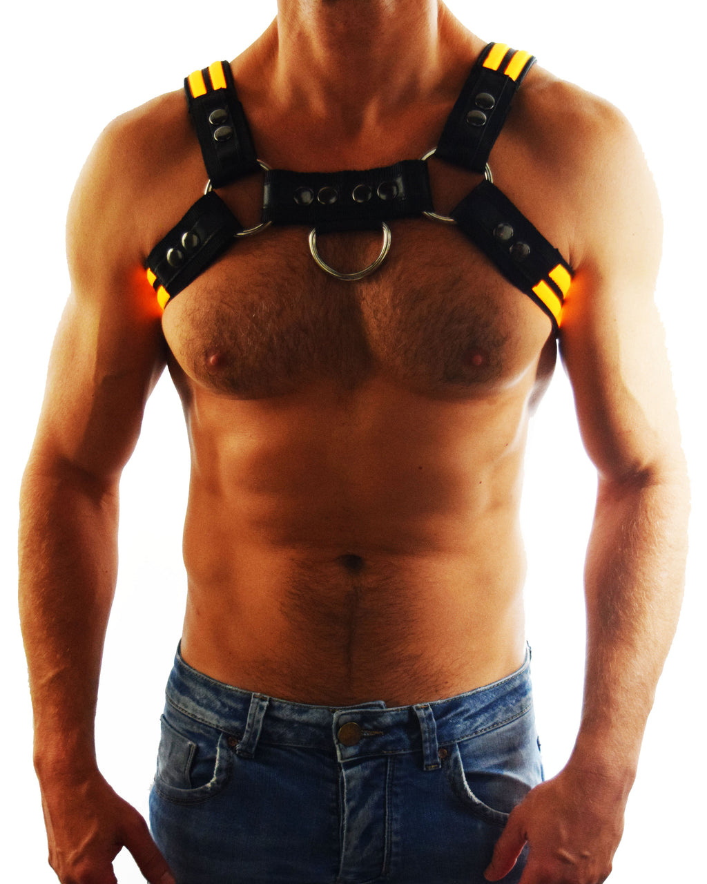 YELLOW GLOW BULLDOG HARNESS