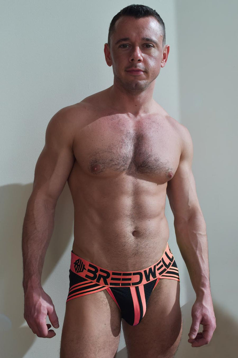 BLACKLIGHT CIRCUIT JOCK - NEON ORANGE