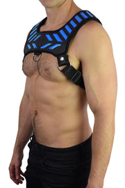 BLUE WARRIOR HARNESS